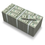 Sieht wie die Dollars Million Dollar O aus lizenzfreie abbildung