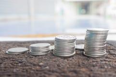 Stapel muntstukken Royalty-vrije Stock Fotografie