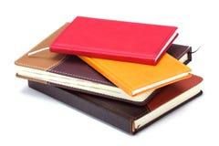 Stapel notitieboekjes Royalty-vrije Stock Foto