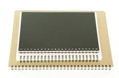 Stapel notitieboekjes Stock Foto's