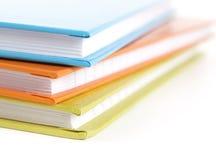 Stapel Notizbücher Lizenzfreie Stockbilder