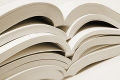 Stapel Open Boeken stock afbeelding