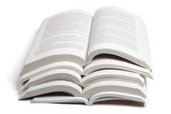 Stapel Open Boeken stock foto