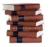 Stapel Oude uitstekende boeken Royalty-vrije Stock Fotografie