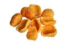 Stapel papad Chips Lizenzfreie Stockbilder