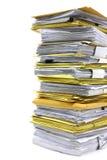 Stapel Papier Lizenzfreie Stockfotografie