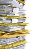 Stapel Papiere Lizenzfreie Stockbilder