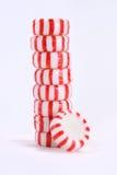 Stapel Pfefferminz-Süßigkeiten Stockfoto