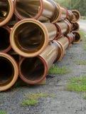Stapel Rohre Stockbilder