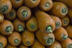 Stapel ruwe wortelen Stock Foto's
