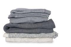 Stapel saubere Kleidung für Kinder Lizenzfreie Stockfotos