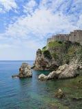 Stapel-Schacht-alte Stadt in Dubrovnik, Kroatien Stockfotografie