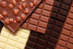 Stapel Schokolade Lizenzfreie Stockbilder