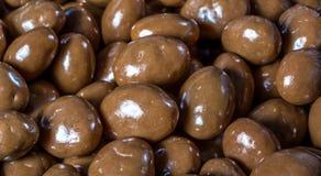 Stapel Schokoladenbälle stockfotografie