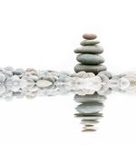 Stapel stenen Royalty-vrije Stock Afbeeldingen