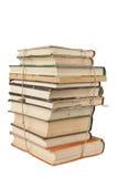 Stapel stoffige boeken Royalty-vrije Stock Foto