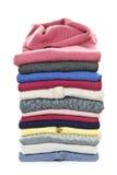 Stapel sweaters Stock Afbeelding
