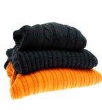 Stapel sweaters Royalty-vrije Stock Afbeeldingen