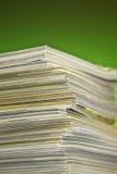 Stapel te recycleren tijdschriften Royalty-vrije Stock Afbeelding
