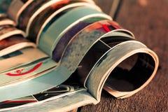 Stapel tijdschriften Royalty-vrije Stock Foto