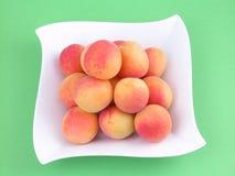 Stapel van abrikozen Stock Afbeelding