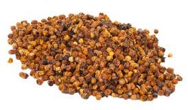 Stapel van bijenstuifmeel, ambrozijn Stock Afbeelding
