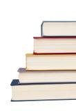 Stapel van boeken gestapelde ladder Royalty-vrije Stock Afbeelding