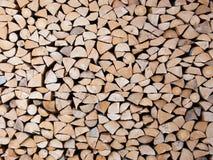 Stapel van boomstammen Royalty-vrije Stock Foto