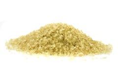 Stapel van bruine suiker Royalty-vrije Stock Fotografie