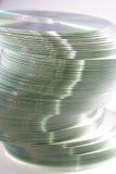 Stapel van CDs Stock Afbeelding