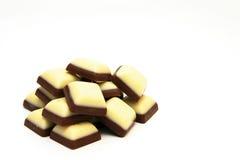 Stapel van chocolade Royalty-vrije Stock Foto