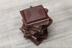 Stapel van chocolade Stock Foto