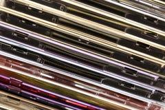 Stapel van compact-discs royalty-vrije stock fotografie