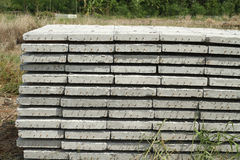 Concrete de bouwplak stock foto