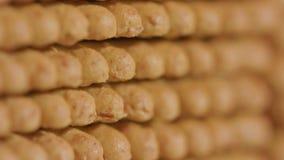 Stapel van Cracker stock videobeelden
