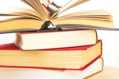 Stapel van de boeken stock foto