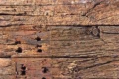 Stapel van de houten achtergrond van de spoordwarsbalk Royalty-vrije Stock Afbeelding