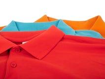 De overhemden van het polo Royalty-vrije Stock Afbeeldingen