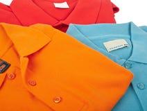 De overhemden van het polo Stock Fotografie