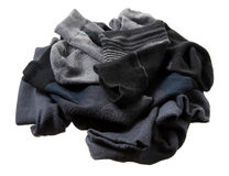 Stapel van de Sokken van Mensen Royalty-vrije Stock Fotografie