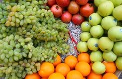 Stapel van diverse vruchten Stock Afbeelding