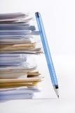 Stapel van document Stock Foto