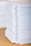 Stapel van documenten Royalty-vrije Stock Afbeelding