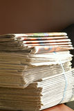 Stapel van documenten royalty-vrije stock afbeeldingen