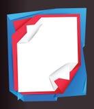 Stapel van documenten achtergrond Royalty-vrije Stock Afbeeldingen