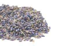 Stapel van Droge Lavendel stock foto's