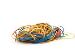 Stapel van elastiekjes. Royalty-vrije Stock Fotografie