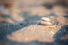 Stapel van Evenwichtige Stenen Royalty-vrije Stock Afbeelding