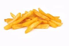 Stapel van frieten stock afbeelding