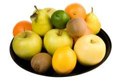 Stapel van fruit Stock Foto's